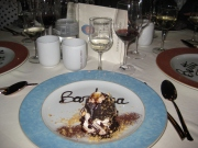 Each dessert was personalized!